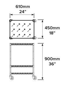 Small-Trolley-Dimension