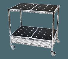 Wood-LargeTrolley-Silver