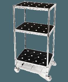 Wood-MediumTrolley-Silver